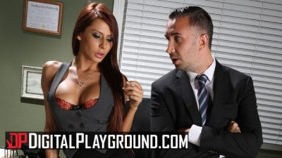 Sexy Big tit Madison Ivy gets some rough office sex