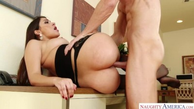 Big ASS Brunette Valentina Nappi Gets Fucked in the Office