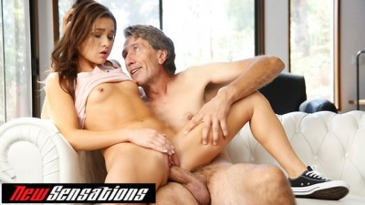 Small Tits Zoe Bloom Gets StepDaddys Cock After School