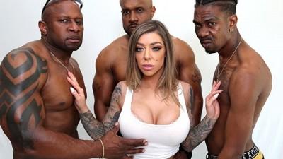 Big Tits Karma Rx Interracial Anal Gangbang