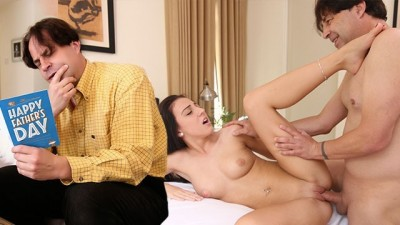 Teen Selena Stone is fucking her horny step dad