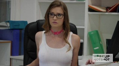 Gorgeous Office Whore Gets Destroyed
