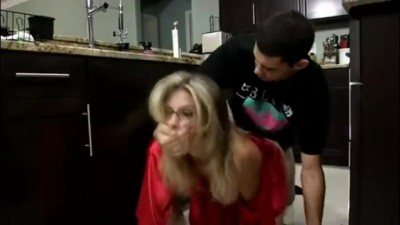 Stepmom & Stepson Secret Hard Sex