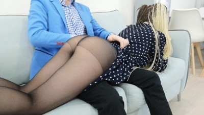 The Anal Experience Of The Young Blonde Student.