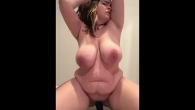 Sexy PAWG Airica Tesla Gets Naked And Rides Her Dildo