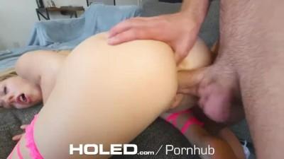 HOLED Huge Dick Penetrates Tight Naive Asshole