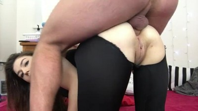 Anal Creampie After The Gym!