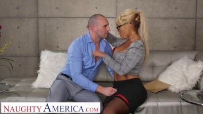 I Have A Wife -  Bridgette Married Man On Couch Blonde