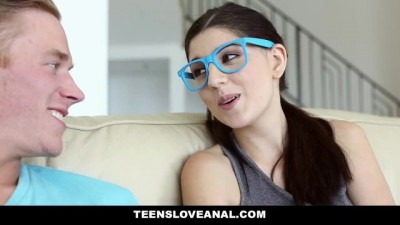 Teens Love Anal - Nerdy Virgin Sodomized Anal