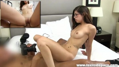 Young Nerdy Ava Taylor Loves To Have Sex On Camera!