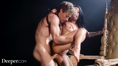 Queen Katrina Jade Intense Anal With Her Slave