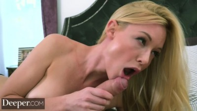 Kayden Kross Shows the Perfect Blowjob