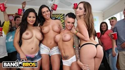 Dorm Invasion  - Rachel Starr, Jessica Bangkok & Remy LaCroix Invade College Dorm