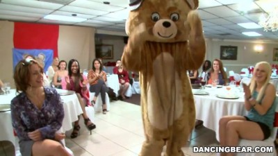 Dancing Bear - Big Dick Male Strippers and a Fluffy Dancing