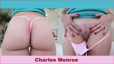 Beauty Blonde PAWG Charlee Monroe Sucks Cock