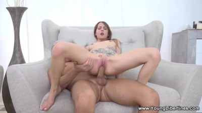 Sweet Cowgirl Loves Riding COCK