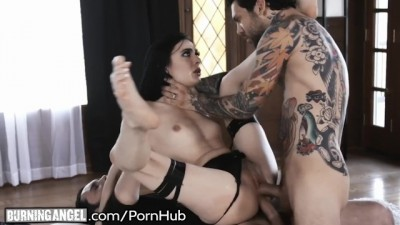 Burning Angel - Skinny Emo Marley Brinx DP
