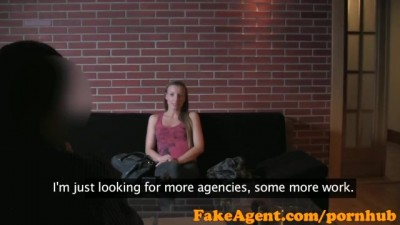 FakeAgent - The horny chick is willing to everything