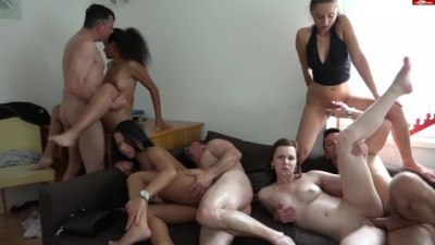 Amateur Group Sex HD
