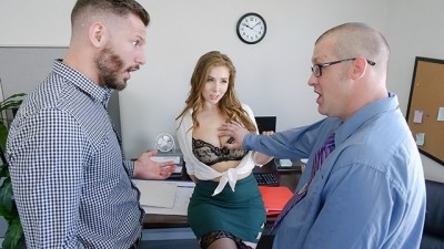 TeamSkeet - Hottie Secretary Lena Paul Fucked In The Office