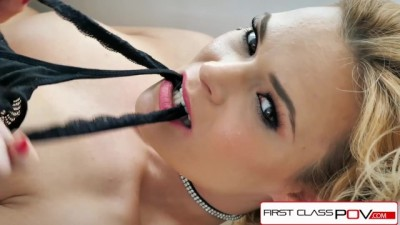 First Class POV - Blaten Lee Take A Monster Big Cock In Her Throat