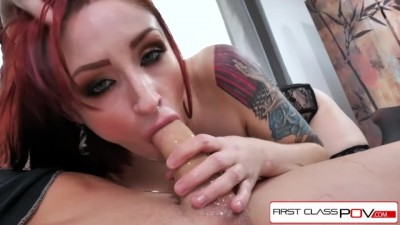 First Class POV - Violet Monroe Take A Big Dick In Her Throat