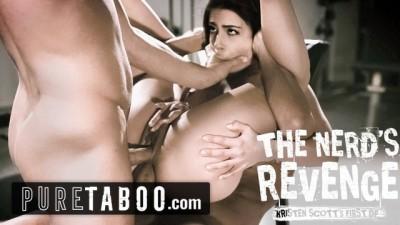 Pure Taboo -School Nerd Kristen Blackmails Bullies into DP SEX