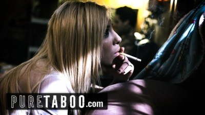 Pure Taboo - Trailer Trash StepSister Steals Bro's Creampie!