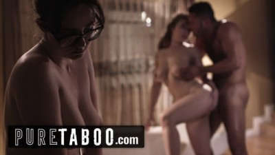 Pure Taboo - Lena Paul Coaxed into Anal with Bosses