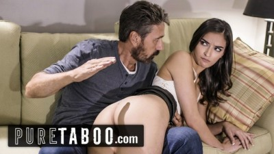 Pure Taboo - Teen Slut Emily Willis Spanked & Creampied Stepdad