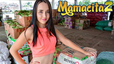 MamacitaZ - Cute Big Ass Latina Teen First Porn