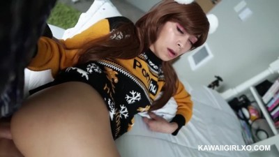 Hot Asian Creampied for the Holidays - in my Pornhub Sweater
