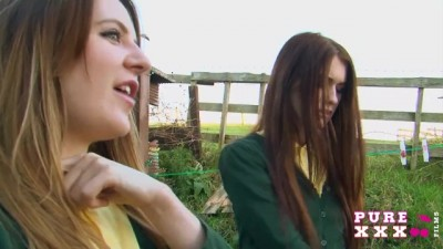 Samantha Bentley and Misha Cross Big Ass Schoolgirls