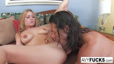 Busty Avy Scott Takes on Nick Manning Blonde