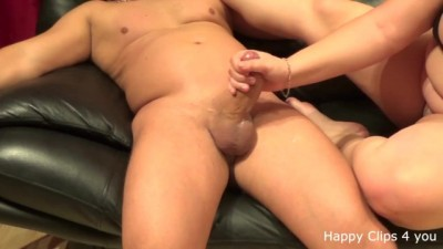 Amateur Handjob by Ex Girlfriend