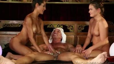 Chloe Amour - Abby Cross Massage Big Dick