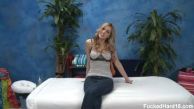 Abigaile Johnson - Hot Teen Massage & Hard Sex Blonde