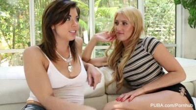Tara Morgan and Addison Ryder are Hot Lesbian Lovers