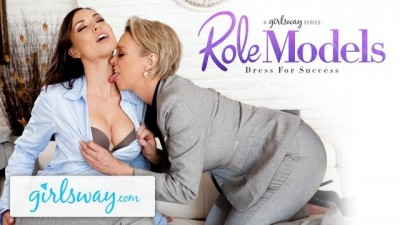 GIRLSWAY Aidra Fox Gets Seduced by her Boss Public