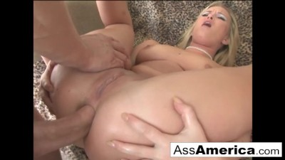 Sasha Knox wants it in the Butt Blonde