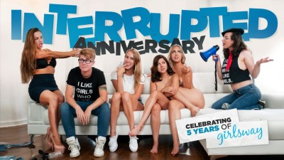 Girlsway - Interrupted Anniversary