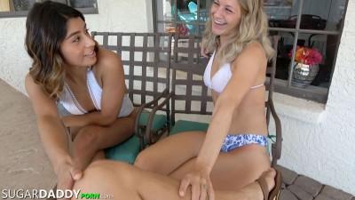 Sugar Daddy Porn - Vanessa Ortiz Brought Her Friend Autumn Payton Along