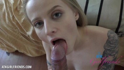 POV Fucking and Facial with Paris White