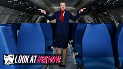 Sexy Air Stewardess Angel Emily, Teen Anal Dominated
