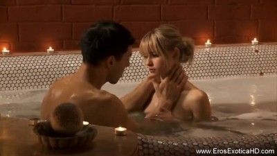Young Couple Having Sex In The Bath Is Very Hot