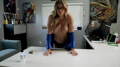 Hot Step Mom is Tricked and Stuck to my Desk - Cory Chase