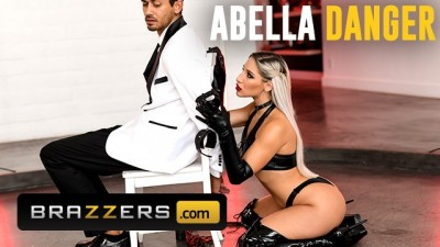 Brazzers - Latex Bubble Butt Abella Danger Takes Huge Dick