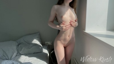 Morning Sex with a Stunning Girlfriend - Widow Kush