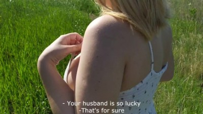 Public Agent Hook up a Young Married Girl for Money and Creampie her Pussy