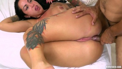 Monster Booty Elisa Sanches having Anal Orgasm in Hardcore Fuck